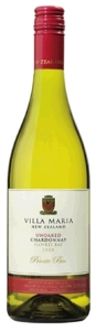 Villa Maria Private Bin Unoaked Chardonnay 2008, Hawkes Bay, North Island Bottle