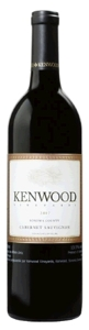 Kenwood Cabernet Sauvignon 2007, Sonoma County Bottle