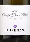 Laurenz V. Charming Grüner Veltliner 2007, Kamptal Bottle