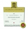 Konzelmann Estate Sauvignon Blanc Reserve 2008 Bottle