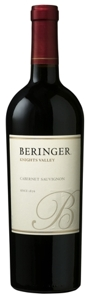 Beringer Knights Valley Cabernet Sauvignon 2005, California Bottle