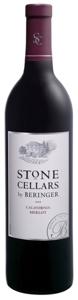 Beringer Stone Cellars Merlot 2008, California Bottle