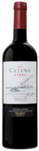 Catena Syrah 2007 Bottle