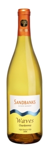 Sandbanks Estate Chardonnay Waves 2008, Ontario VQA Bottle