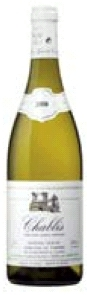 Alain Geoffroy Domaine Le Verger Chablis 2008, Ac Bottle