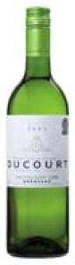 Ducourt Reserve De Famille Sauvignon Gris 2008, Ac Bordeaux Bottle