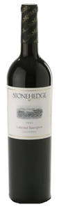 Stonehedge Cabernet Sauvignon 2008, California Bottle