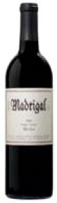 Madrigal Merlot 2005, Napa Valley Bottle