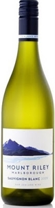 Mount Riley Sauvignon Blanc 2009, Marlborough, South Island Bottle
