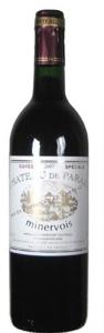 Domaine De Paraza Cuvée Speciale Minervois 2007, Ac Bottle
