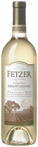 Fetzer Pinot Grigio 2009, California Bottle