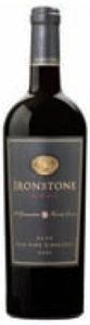 Ironstone Reserve Old Vine Zinfandel 2008, Lodi Bottle