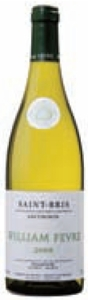 William Fèvre Sauvignon Blanc Saint Bris 2008, Ac Bottle