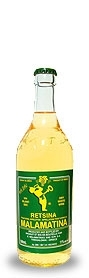 Retsina Malamatina, 500ml Bottle