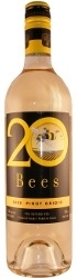 20 Bees Pinot Grigio 2009, Ontario Bottle