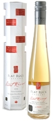 Flat Rock Sweet Revenge Vidal Icewine 2007, St. Davids Bench Bottle