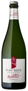 Flat Rock Riddled Sparkling 2007, VQA Twenty Mile Bench, Niagara Peninsula Bottle