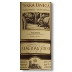 Terra Unica Reserva 2002 Bottle