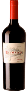 Benmarco Malbec 2008 Bottle