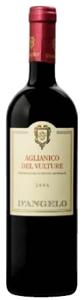 D'angelo Aglianico Del Vulture 2006, Doc Basilicata Bottle