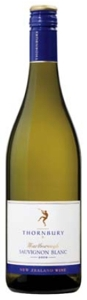 Thornbury Sauvignon Blanc 2009, Marlborough, South Island Bottle
