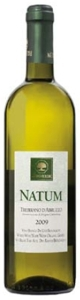 Agriverde Natum Trebbiano D'abruzzo 2009, Doc, Made With Organic Grapes Bottle