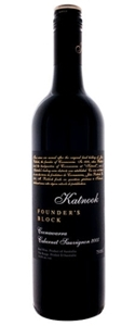 Katnook Founder's Block Cabernet Sauvignon 2008, Coonawarra, South Australia Bottle