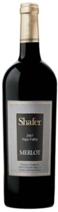 Shafer Vineyards Merlot 2007, Napa Valley Bottle