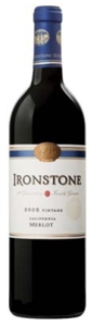 Ironstone Vineyards Merlot 2008, California Bottle
