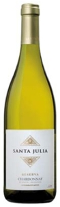 Familia Zuccardi Santa Julia Reserva Chardonnay 2009, Mendoza Bottle