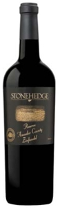 Stonehedge Reserve Zinfandel 2008, Alexander Valley, Sonoma County Bottle