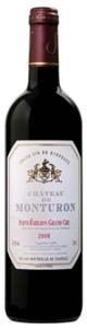 Château De Monturon 2008, Ac Saint émilion Grand Cru Bottle