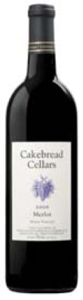 Cakebread Cellars Merlot 2006, Napa Valley Bottle