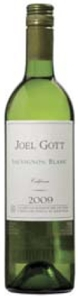 Joel Gott Sauvignon Blanc 2009, Napa Valley Bottle