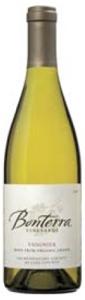 Bonterra Viognier 2007, Mendocino County Bottle