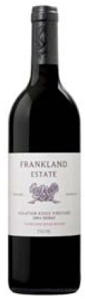 Frankland Estate Isolation Ridge Vineyard Shiraz 2004, Frankland River Region, Western Australia Bottle