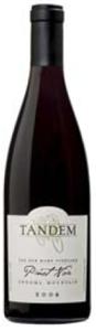 Tandem Van Der Kamp Pinot Noir 2006, Sonoma Mountain Bottle