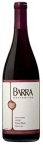 Barra Of Mendocino Pinot Noir 2006, Redwood Valley, Mendocino Bottle
