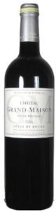 Château Grand Maison Cuvée Spéciale 2006, Ac Côtes De Bourg Bottle