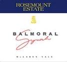 Rosemount Balmoral Syrah 2000 Bottle