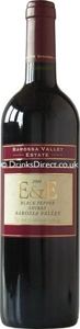E & E Black Pepper Shiraz 2002 Bottle