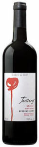 Teillery Reserve Syrah 2006, Maipo Valley Bottle