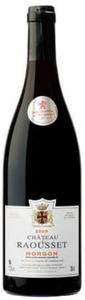 Château De Raousset Morgon 2009, Ac Bottle