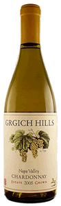 Grgich Hills Estate Chardonnay 2007, Napa Valley Bottle