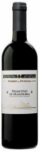 Terre Puglia Primitivo Di Manduria 2007, Doc Bottle