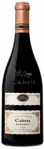 Cabriz Reserva 2007, Doc Dão Bottle