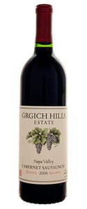 Grgich Hills Cabernet Sauvignon 2006, Napa Valley Bottle