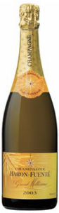 Baron Fuenté Grand Millésime Brut Champagne 2003 Bottle