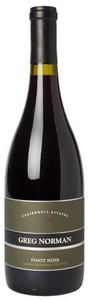 Greg Norman California Estates Pinot Noir 2008, Santa Barbara County Bottle