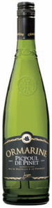 Ormarine Carte Noire Picpoul De Pinet 2009, Ac Bottle